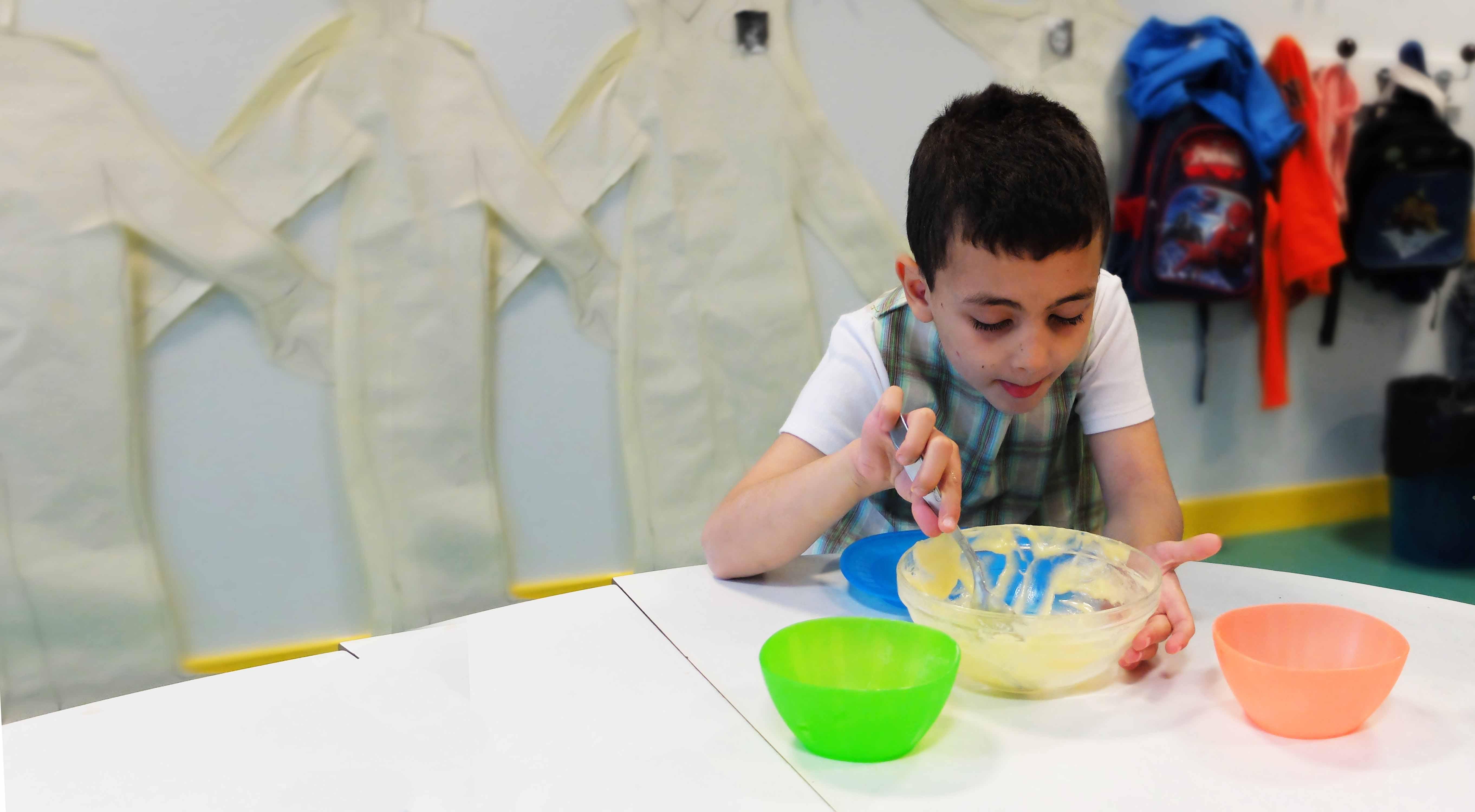 Atelier cuisine Externat Médico-Pédagogique