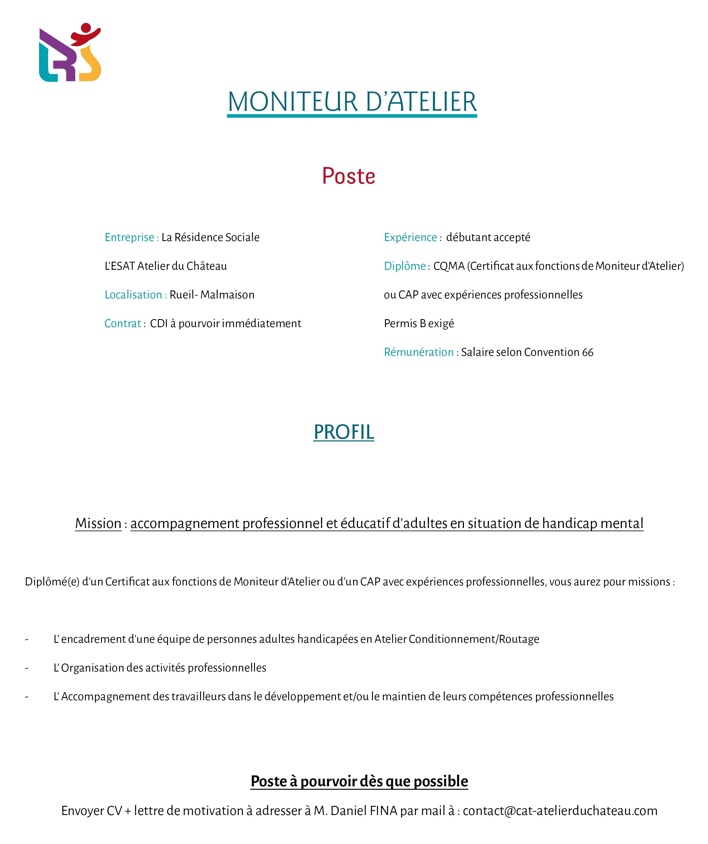 fiche poste moniteur d'atelier_Rueil_V2