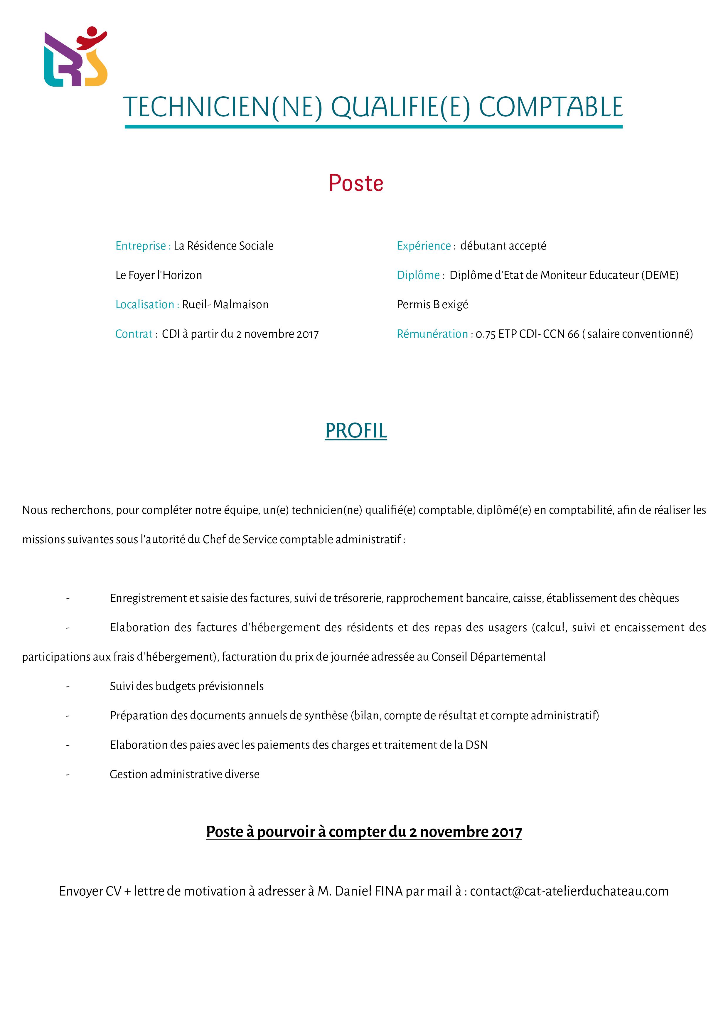 fiche poste technicien_qualifié_comptable_Rueil
