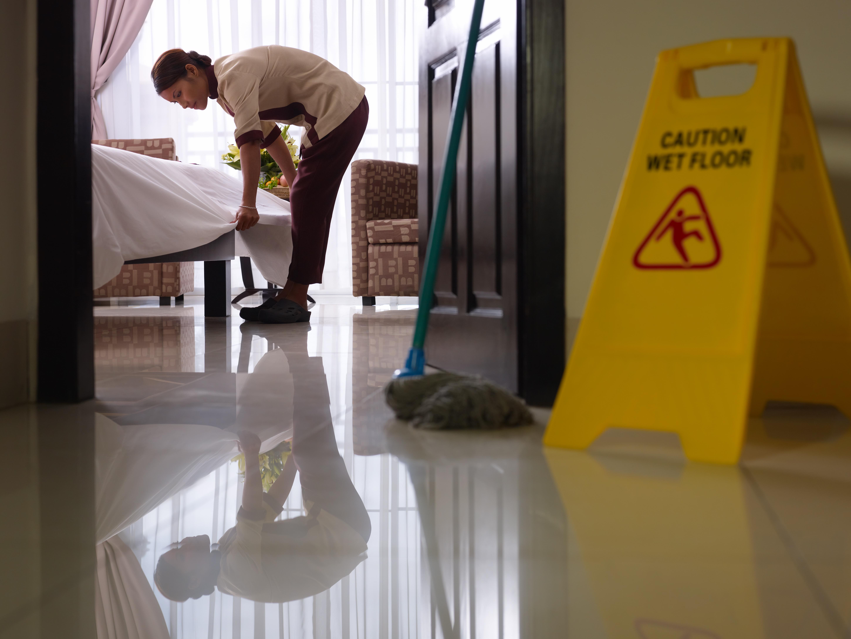 Activité nettoyage hôtellerie