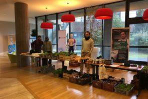 La Ferme Des Possibles expose ses produits chez Groupama