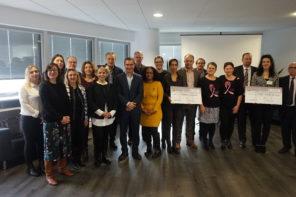 Remise de chèque de la Fondation Kronenbourg à La Résidence Sociale