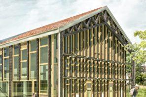 Le bâtiment Résilience à La Ferme Des Possibles
